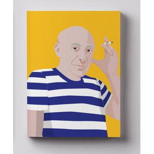 cc814 | crissXcross | Pablo Picasso - notebook A6