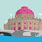 bv038 | bon voyage | Museumsinsel Berlin - Postkarte A6