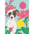 Postkarte - Christmas Dog