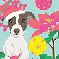 lux005   Postkarte - Christmas Dog