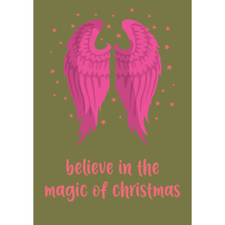 lux012 | luminous | Believe In The Magic Of Christmas - postcard A6
