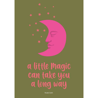 lux013 | luminous | A Little Magic Can Take You A Long Way - postcard A6