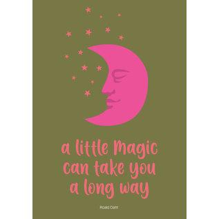 lux013 | Postkarte - a little magic can take you a long way
