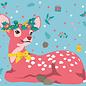 lux015 | Postkarte - Christmas Bambi