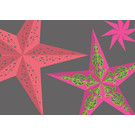 lux023 | luminous | Papiersterne 2 - Postkarte A6