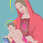 lux026 | luminous | Maria With Child - postcard A6