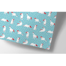 cc728 | crissXcross | Christmas Cats - wrapping paper Bogen 50 x 70 cm