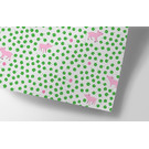 cc729 | crissXcross | Lucky Pig - wrapping paper
