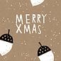 dfx051 | Designfräulein | White Nugget hoch drei - Postkarte A6