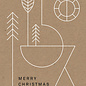 dfx053 | Designfräulein | Geometric Circle - postcard A6
