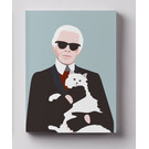 cc815 | Notizheft A6 - Karl Lagerfeld