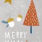 Designfräulein dfx045 | Designfräulein | Tree colourful   - Postkarte A6