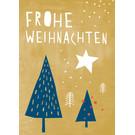 Designfräulein dfx046 | Designfräulein | Landscape colourful    - Postkarte A6