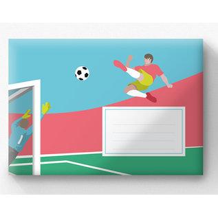 cc620 | crissXcross | Soccer - Envelope set C6