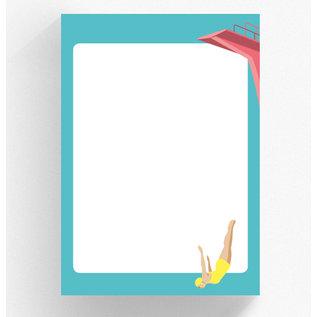 Notepad A5 - Diver