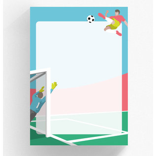 cc520 | crissXcross | Football - notepad DIN A5