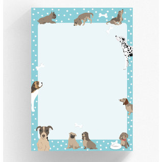 Notepad A5 - Dogs