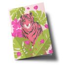 ha326 | happiness | Tiger - Klappkarte B6