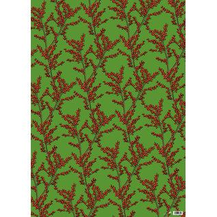 ILX7005 | illi | Nevo Grün - Geschenkpapier Bogen 50 x 70 cm