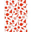 ILX7007 | illi | Zambola - Red - wrapping paper Bogen 50 x 70 cm