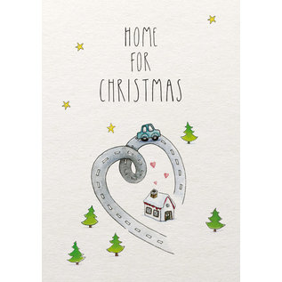 tgx507   Tabea Güttner   Home For Christmas - postcard A6