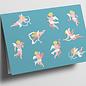 cc323   Folded Card - Little Angel