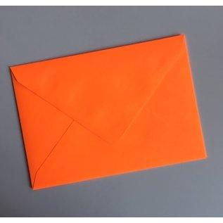 ha600   happiness   Neon Orange - Briefumschlag Set  C6
