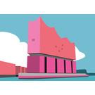 bv039 | bon voyage | Elbphilharmonie, Hamburg - Postkarte A6