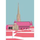 bv043 | bon voyage | St. Stephen's Cathedral, Vienna - postcard A6