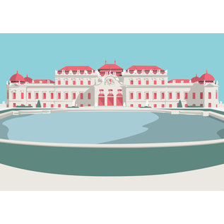 bv045 | Postkarte - Schloss Belvedere, Wien