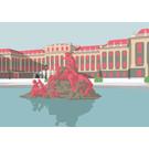 bv048 | bon voyage | Schloss Schönbrunn, Wien - Postkarte A6