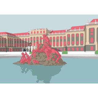 bv048 | Postkarte - Schloss Schönbrunn, Wien