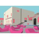 bv050 | bon voyage | Museumsquartier, Wien - Postkarte A6