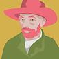 mu005 | postcard- Vincent van Gogh