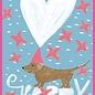 SG195   schönegrüsse   Winter - Happy Dackel - Postkarte A6