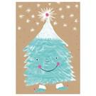 SG199 | schönegrüsse | Winter -Tanzender Tannenbaum - Postkarte A6