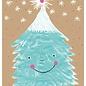 sg199 | Postkarte - Winter -Tanzender Tannenbaum