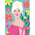 ng903 | pop art new generation | Brigitte Bardot - ArtPrint DIN A5