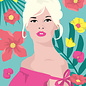 ng903 | ArtPrint A5 - Brigitte Bardot