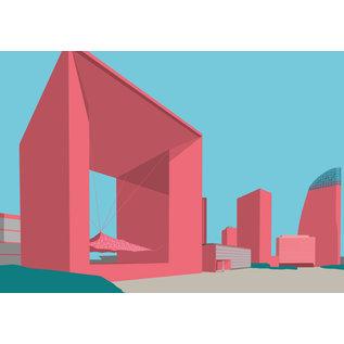 bv054   Postkarte - La Grande Arche de la Défense