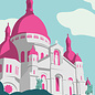 bv061 | bon voyage | Sacré Cœur - Postkarte A6