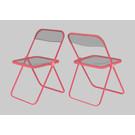 dc005 | Design Classics | Plia  Chair (Giancarlo Piretti) - postcard A6
