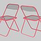 dc005 | Design Classics | Plia  Chair (Giancarlo Piretti) - Postkarte A6