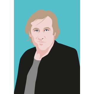 ng064 | Postkarte - Gerad Depardieu