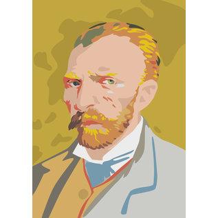 mu300 | Postkarte - van Gogh Portrait - Winter 1886/87