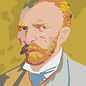 mu300 | Postcard - van Gogh Portrait - Winter 1886/87