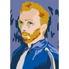 mu303 | Postkarte - van Gogh Portrait -  August 1889