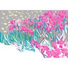 "mu002 | museum art | Vincent van Gogh ""irises"" - Postkarte A6"