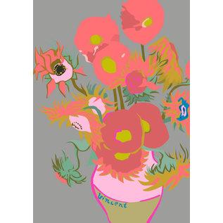 "mu003 | Postkarte - Vincent van Gogh ""sunflowers"""