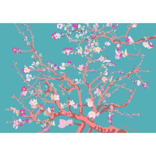 "mu004 | Postkarte - Vincent van Gogh ""almond blossom"""